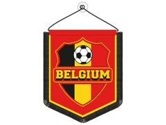 Belgium Wimpel 8X10Cm Rood