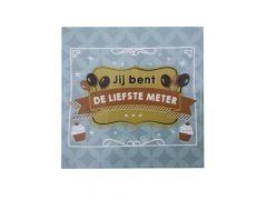 Balloons & Cupcakes Sticker Jij Bent De Liefste Meter