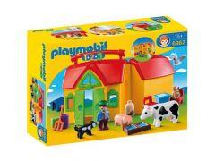 Playmobil 6962 Meeneemboerderij Met Dieren