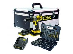 Stanley FatMax 18V Combi 2.0 0Ah Flight Case Boormachine