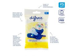 Difrax Schoonmaakdoekjes Voor Fopspenen
