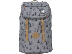 The Pack Premium Backpack Grey Tree Allover
