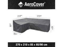Aerocover Lounge Hoes L-Vorm Links 270X210X85Xh6590Cm Hoge Rug