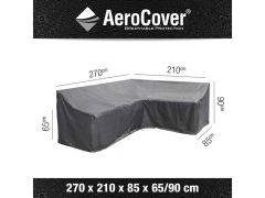 Aerocover Lounge Hoes L-Vorm Rechts 270X210X85Xh6590Cm Hoge Rug