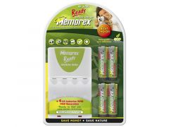 Memorex Rx 3206 Ready+4 R6 Nimh Charger
