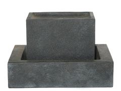 Fontein 69.5X41X46.5Cm Cement + Led