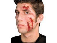 Halloween Latex Wonden Glass Attack