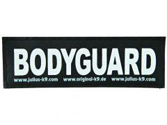 2 Julius-K9 Velcro Stickers Bodyguard L/16X5Cm