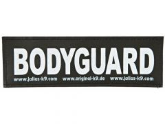 2 Julius-K9 Velcro Stickers Bodyguard S/11X3Cm