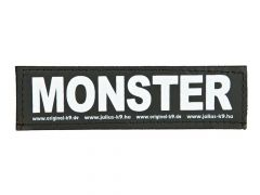 2 Julius-K9 Velcro Stickers Monster S/11X3Cm