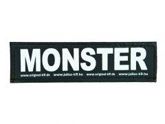 2 Julius-K9 Velcro Stickers Monster L/16X5Cm