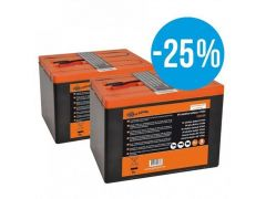 Duopack Batterij 2 X 175Ah