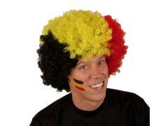 Belgium Pruik Grote Krullebol