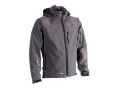 Herock Ex Poseidon Soft Shell Jacket Grey XL