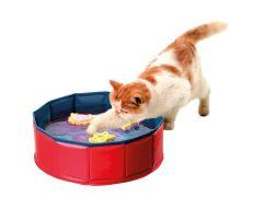 Kittenmeer Met 3 Speeltjes 30X10Cm