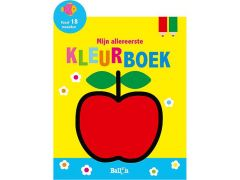 Mijn Allereerste Kleurboek: Appel