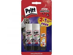 Pritt Stick 2X43Gr Blister + Gratis Glow In The Dark