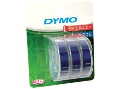 Dymo Junior Blauw 3 Rol 9Mm