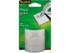 Scotch Magic 25Mx19Mm / 3 Op Blister