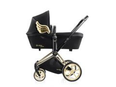 Cybex Platinum Draagmand Priam Js Wings Black/Black