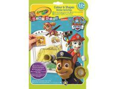 Crayola Mini Kids Kleur&Vormboek Paw Patrol