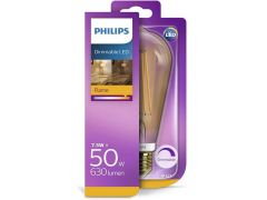 Philips Lamp Ledclassic 50W St64 E27 Gold 2200K D 1Bc/4