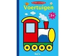 Kleurboek Voertuigen