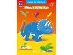Kleur- En Prikblok Dinosaurussen