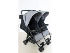 Qaux Buggy Compact Xl Twin Linen Grey