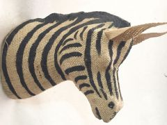 Qaux Dierenkop Trofee Xl - Zebra