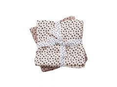 Done By Deer Dots Happy Swaddle 2-Pack Powder