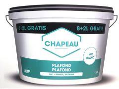 Chapeau Plafondverf  Wit 8+2L