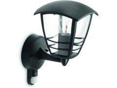 Creek Wall Lantern Black 1X60W 230V