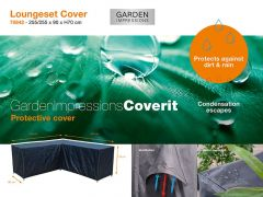 Coverit Loungeset L Hoes 235/235X90Xh70Cm