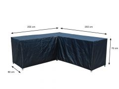 Coverit Loungeset L Hoes 255/255X90Xh70Cm