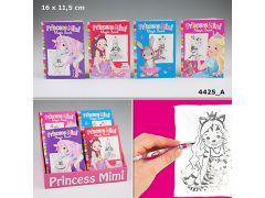 Princess Mimi Mni-Kleurboek Met Magische Blaadjes
