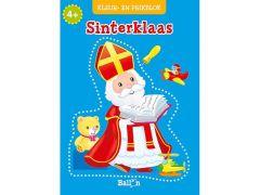 Sinterklaas Kleur- En Prikblok