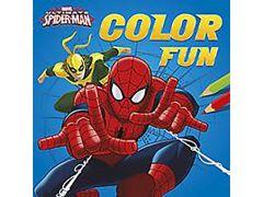 Ultimate Spider-Man Color Fun