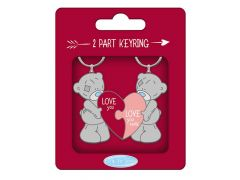 Me To You 2 Part Pvc Keyring