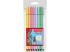 Stabilo Pen 68 Pastel 8St