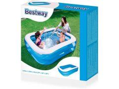 Bestway rechthoekig familiezwembad - 201x150x51cm