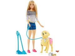 Barbie Wandelen En Trainen Puppy
