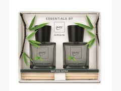 Essentials Giftset 2X50Ml Black Bamboo
