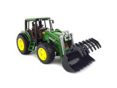 Bruder 02052 John Deere tractor met voorlader