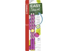 Stabilo Easy Graph Hb Left Pink