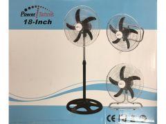 Ventilator Op Voet Ind. 50W 18
