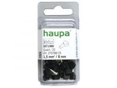 Huls 2X1,5/16,0Mm Zwart