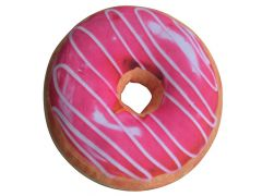 Donut Kussen Pink 40Cm