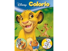 Kleurboek Disney Animals 32Blz