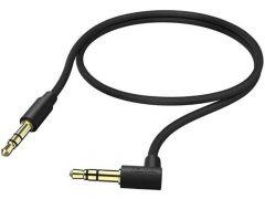 Hama Audiokabel 3,5Mm Jack 90° 0,5M Zwart.